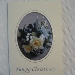White Christmas Roses (Silver)