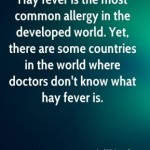 Hay Fever Fact