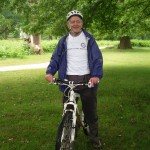 Malcolm Weallans Cycling With Oxygen